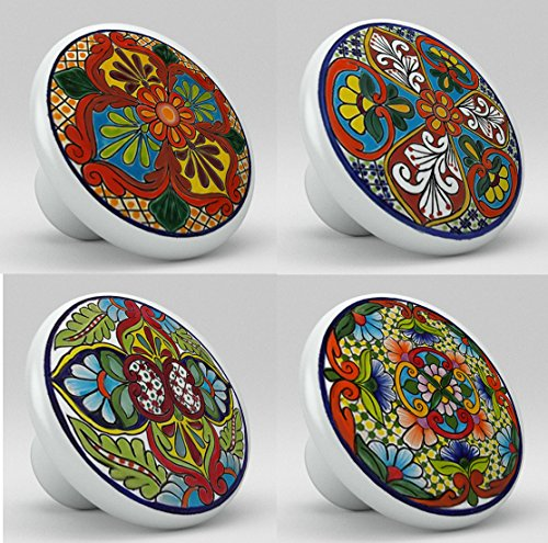 mexican ceramic knobs - 9
