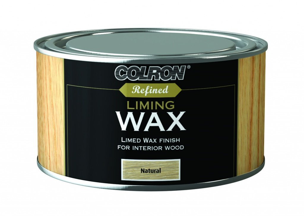 Ronseal RSLCRLW400 CRLW400 Colron Refined Liming Wax 400g, Natural
