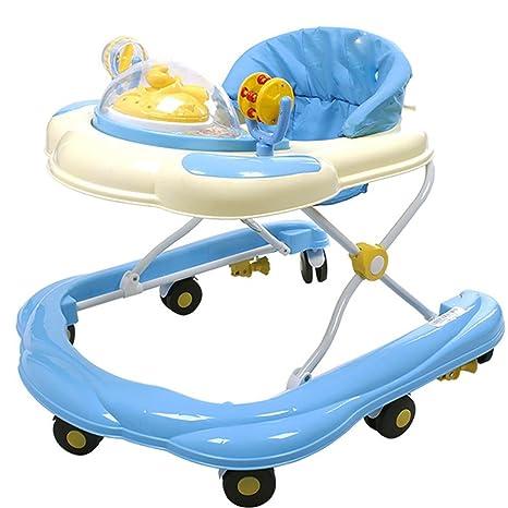 GUO Música doblada en U bebé vuelco andador andador: Amazon.es ...