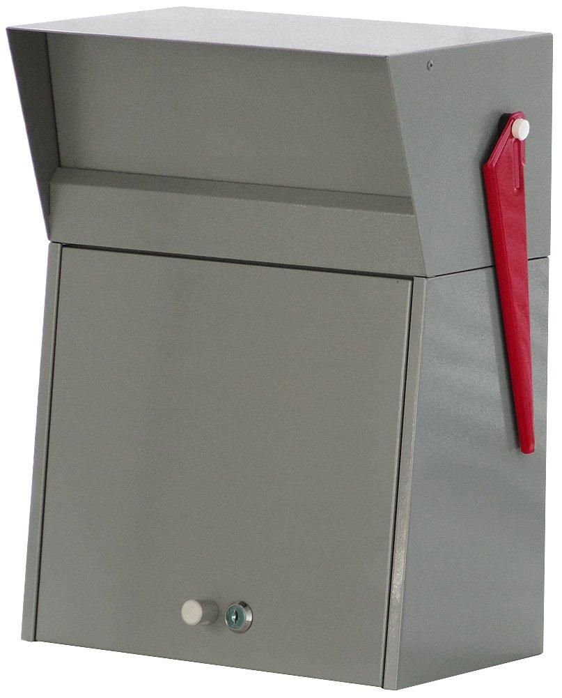 HERMOSA MELROSE POST メールBOX グレー MR-001 B077H846QK 16200