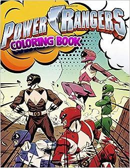 Amazon.com: Power Rangers Coloring Book: Superhero Coloring ...