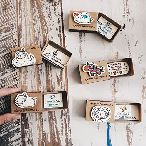Amazon.com: Cute Birthday Matchbox-cards