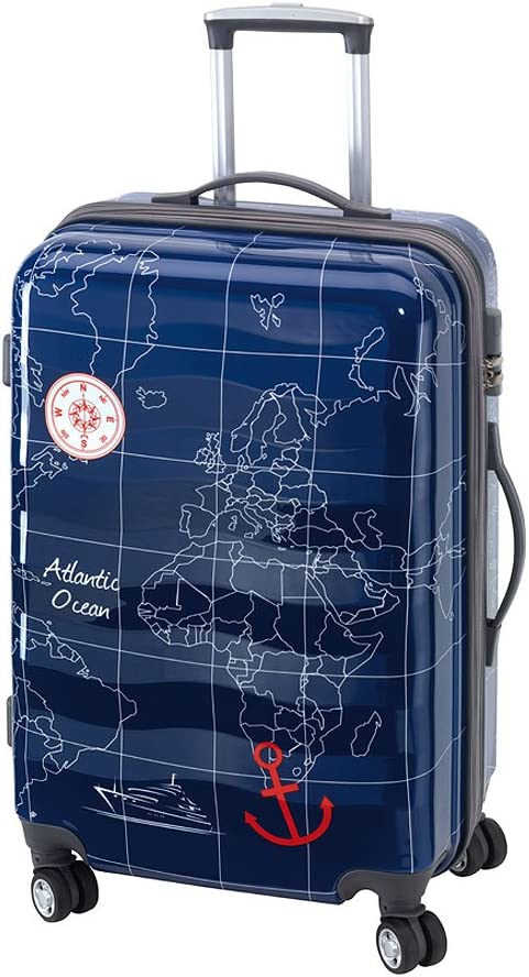 Madeira – Maleta con ruedas XL 70 azul: Amazon.es: Equipaje
