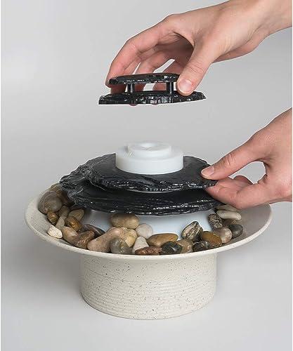 Homedics Zen Relaxation Tabletop Fountain, Natural