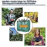 COCOCK 3-Pack 80 Gallons Reusable Garden Waste
