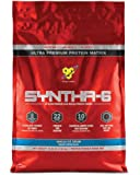 BSN SYNTHA-6 Protein Powder, Whey Protein, Micellar Casein, Milk Protein Isolate, Flavor: Vanilla Ice Cream, 97 Servings