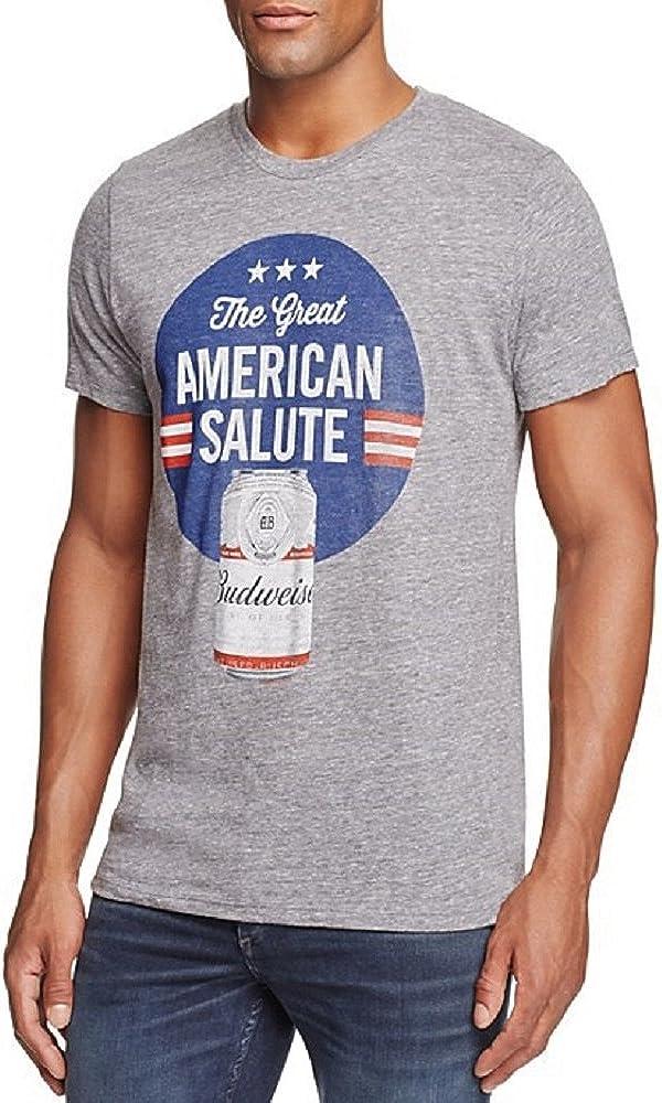 Junk Food Mens Budweiser Graphic T-Shirt