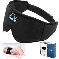 Sleep Headphones,3D Sleep Mask Bluetooth 5.0 Wireless Music Eye Mask, Sleeping Headphones for Side Sleepers, with Ultra…