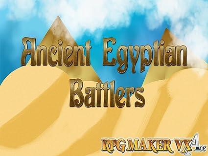 Amazon com: RPG Maker VX DLC - Egyptian Myth Battlers