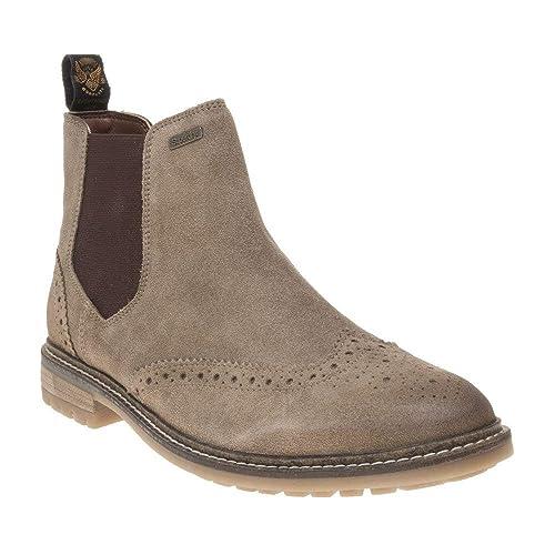 7a636794df7 Superdry Brad Brogue Chelsea Boots Tan 10 UK: Amazon.co.uk: Shoes & Bags