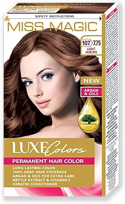 Tinta para pelo Miss Magic Tinte Cobre Claro Hair Colour con ...