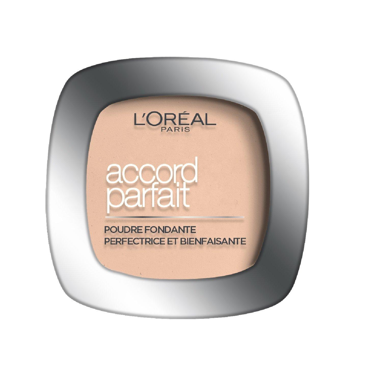 L'Oréal Paris Accord Parfait N4 Beige - polvos faciales (N4, Beige, Mate, Natural, Italia) L'Oréal Paris 3600520932798