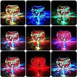 Solar Jar Glass Ball Table Light, Color Changing