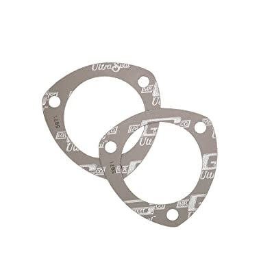 Mr. Gasket Ultra-Seal Collector Gaskets 2Pcs: Automotive
