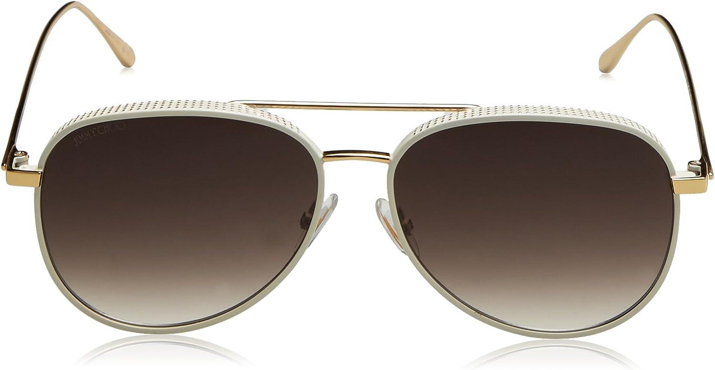 Jimmy Choo Brown Gradient Aviator Sunglasses RETO//S 57JS 57 RETO//S 57JS 57