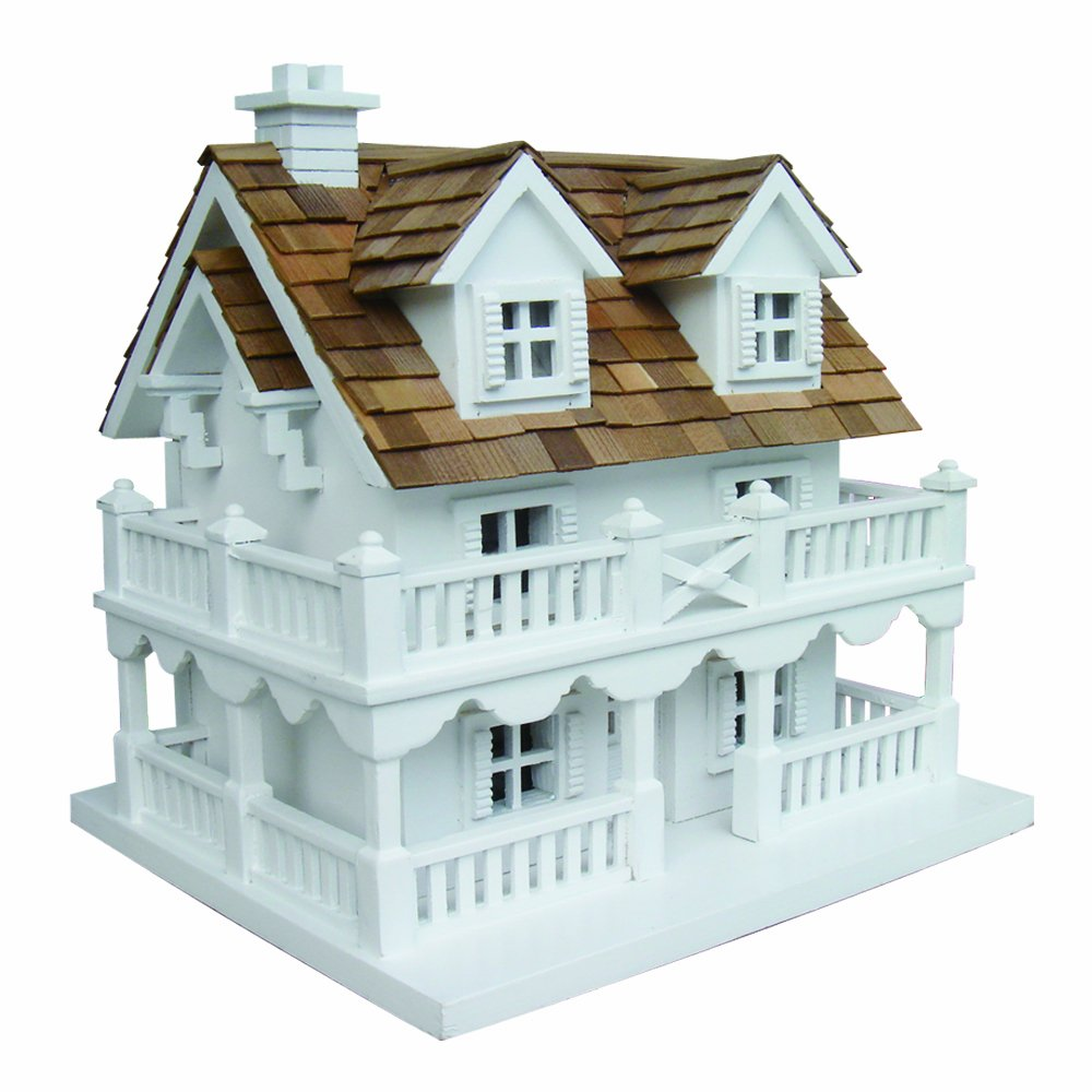 Home Bazaar Cape Cod Birdhouse with Bracket