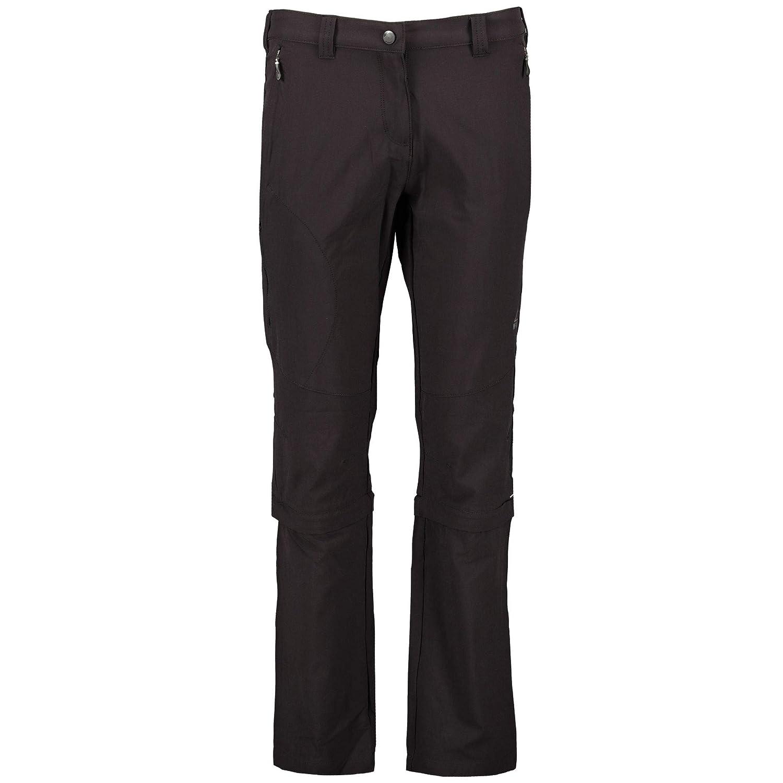 Noir FR   XS (Taille Fabricant   17) MC KINLEY Zipp Mandorak Kg Pantalon Femme