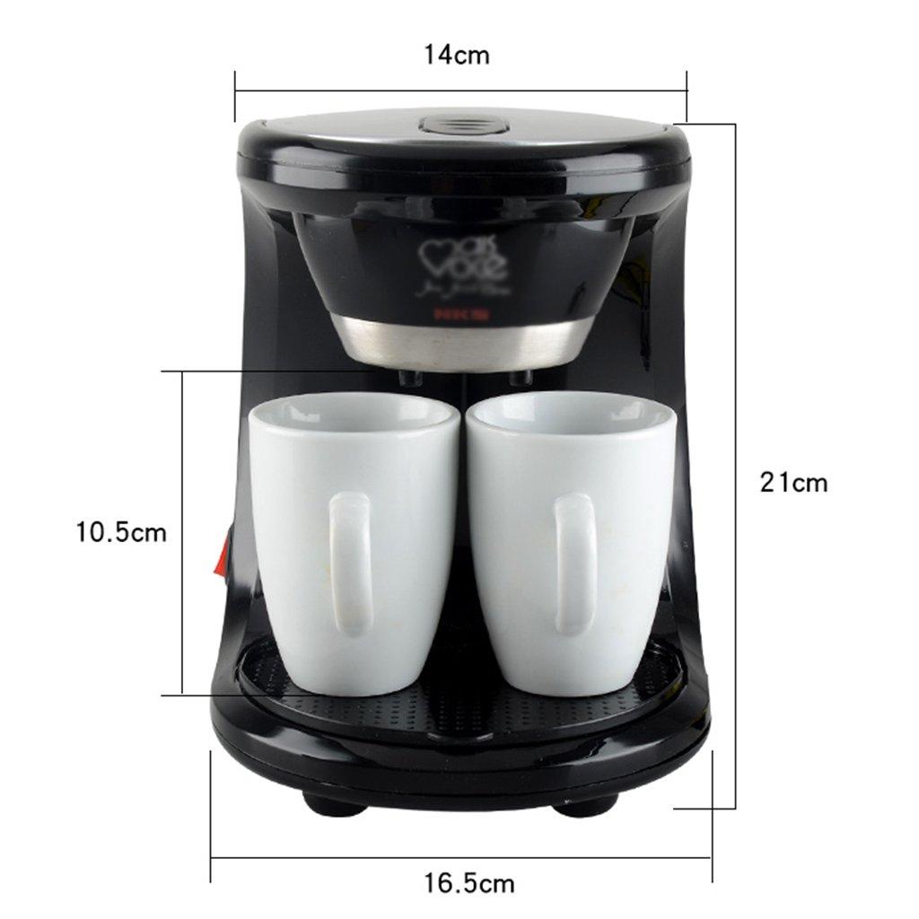 Amazon.com: Cafetera compacta automática para café, café ...