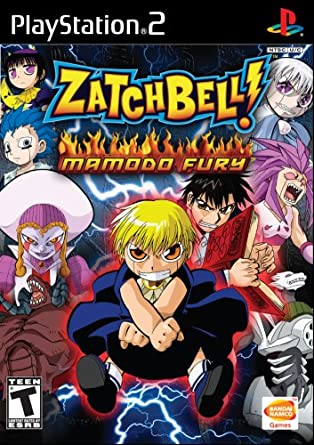zatch bell mamodo fury pc