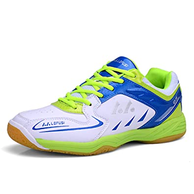 LEFUS Mens Tennis Shoes Badminton Sneakers Fashion Athletic Sneakers  (US-6.5 e4a61c70e