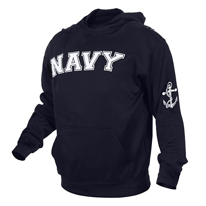 cc0a277f Amazon.com : Rothco Military Embroidered Pullover Hoodies : Sports &  Outdoors