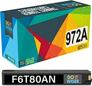 Do it Wiser Compatible Ink Cartridge Replacement for HP 972A 972 HP Pagewide Pro 477dw 377dw 477dn 577dw 377dn 577z 452dn 452dw 552dw P55250dw P57750dw (Black)