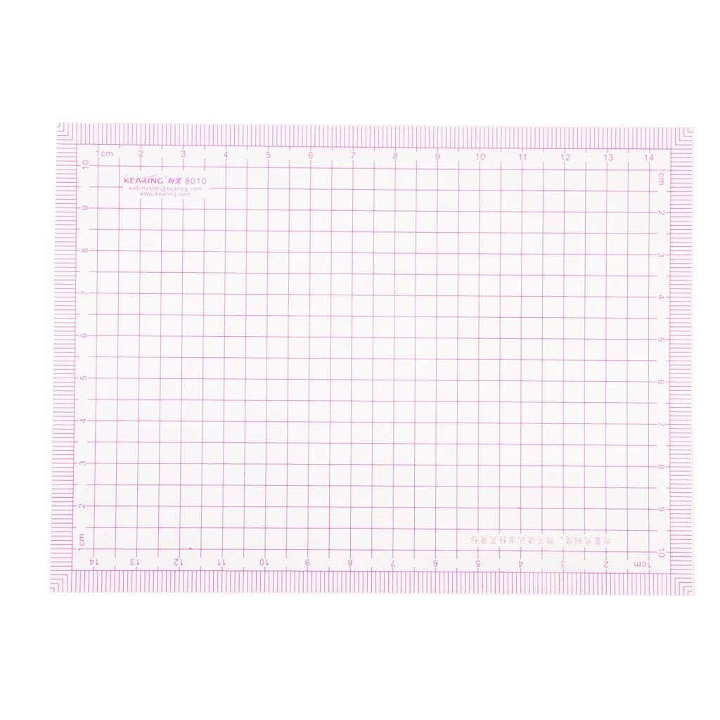 Prettyia Plastic Sewing Ruler for Patchwork Measuring Drawing Multi-Function