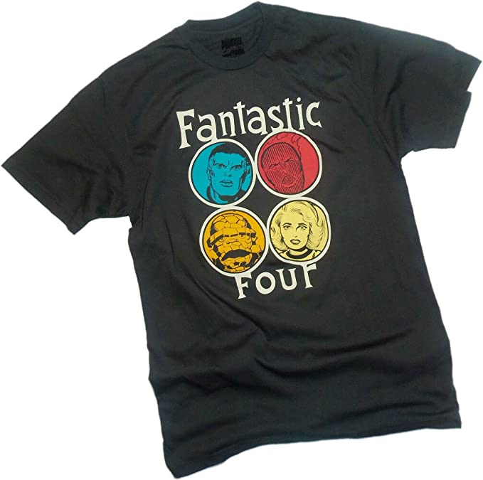 Circle Portraits -- Fantastic Four Camiseta, XL