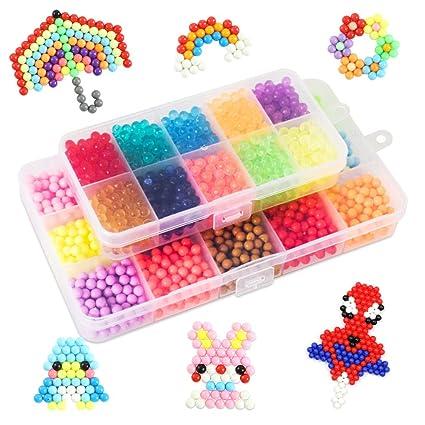 Amazon Com Lemical Water Fuse Beads Kit 4000 Kids Craft Diy Water