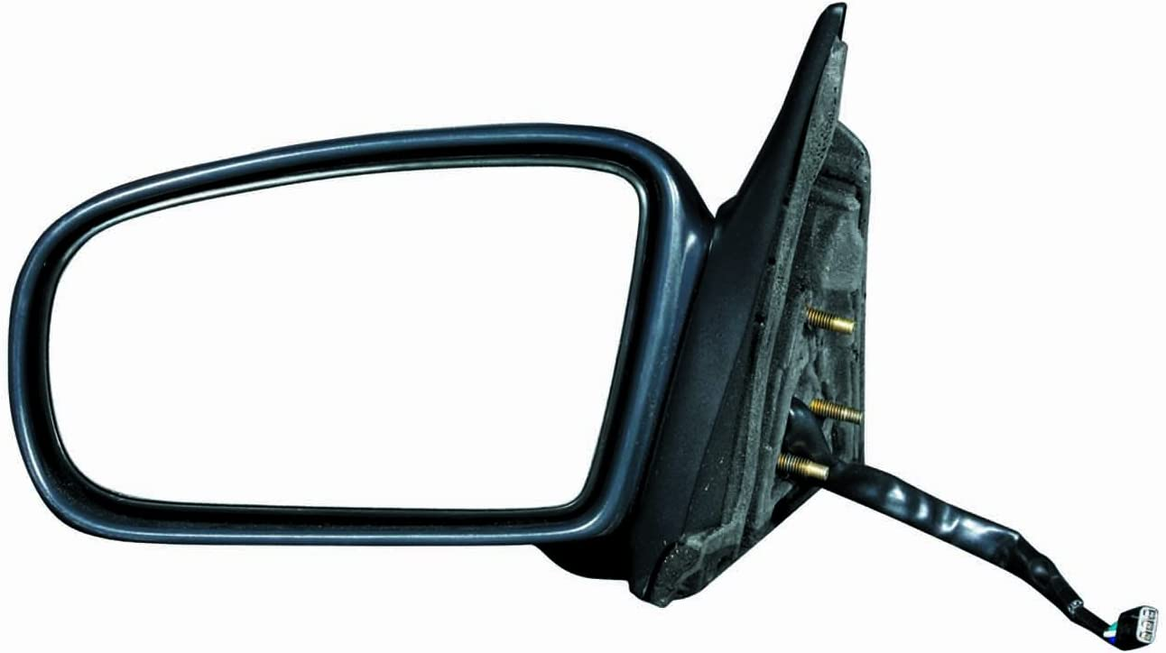 Gold Shrine for Chevrolet Malibu//Oldsmobile Cutlass Power Operated Non-Heated Folding Textured Side Door View Mirror 1997 1998 1999 2000 2001 2002 2003 2004 2005 Driver Left Side Replacement