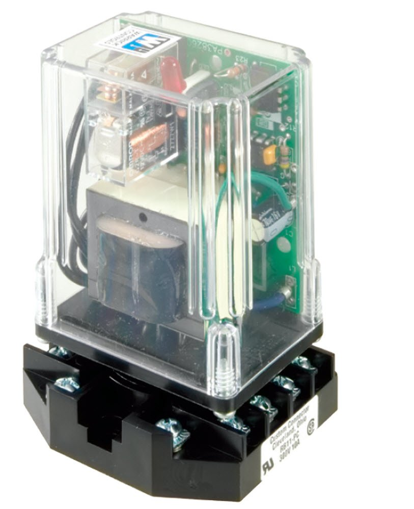 Warrick 16VMA1A0 Field Selectable Sensitivity Solid State Plug-In Module with 11 Pin Octal Socket, 4.7K ohms Direct Sensitivity, 120 VAC Voltage