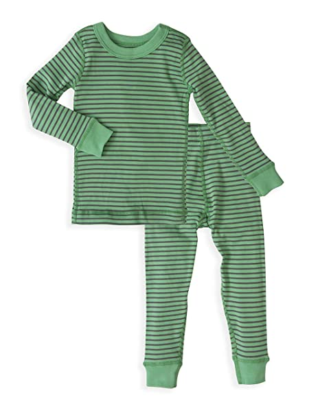 1fa32e209831a Skylar Luna Boy's Long Sleeves Organic Cotton Pajamas: Amazon.ca ...