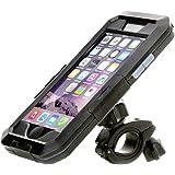 iRoundy Wasserdichte iPhone 6/6S Bike Mount, iekon iPhone SE Motorrad Bike Lenker, wasserdicht stoßfest Fahrrad Handy Halterung, Radfahren Equipment