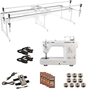 Juki TL2000Qi Grace Q-Zone Queen with Speed Control Machine Quilting Combo 7