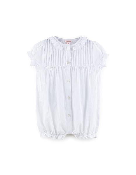 Gocco Plumeti, Conjuntos de Pijama para Bebés, Blanco, 6-9 Meses