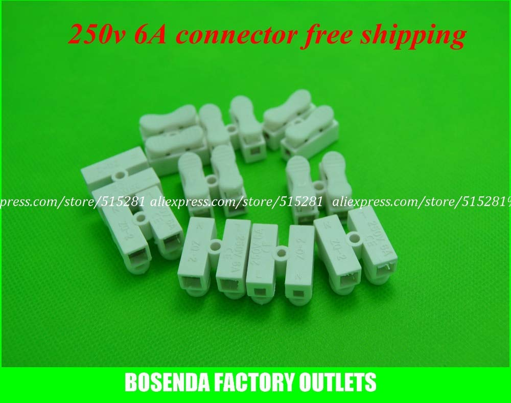 Gimax BSOD 500 Pack Spring Connector for Wire,Cable, LED Strip Conneting Catcher by GIMAX (Image #3)