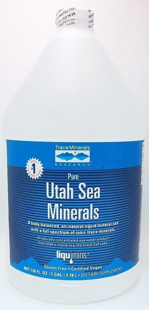 Trace Minerals Utah Sea Minerals: Health & Personal Care
