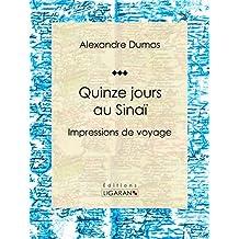 Quinze jours au Sinaï: Impressions de voyage (French Edition)