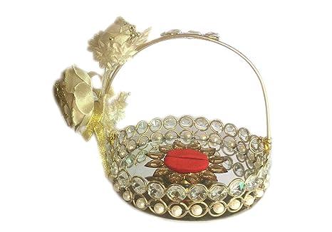Buy Loops N Knots Small Basket Wedding Engagement Ring Platter