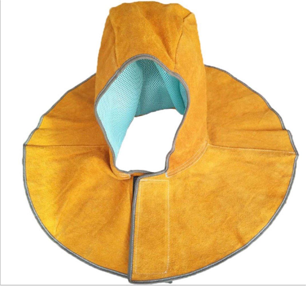 Cowhide Welding Protective Head Safety Hat Welder Inflaming Retarding