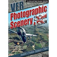 VFR Scenery Pack Vol 2: Central & Western England & Wales (Add on for FS 2002/4) (PC DVD)