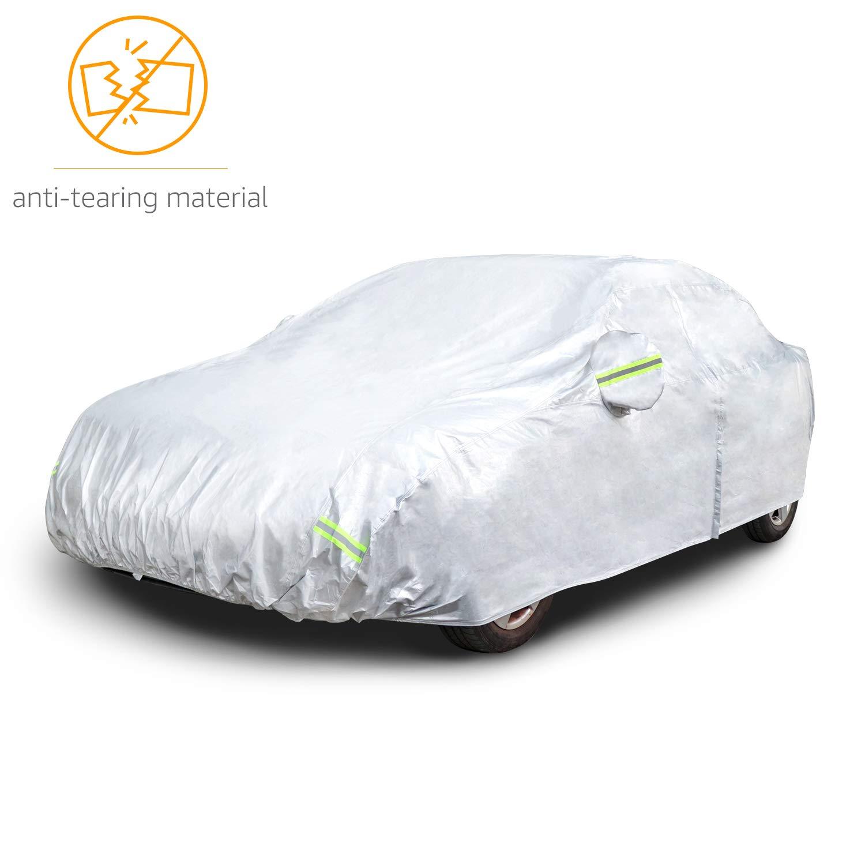 per SUV fino a 470/cm Telo copriauto argentato Basics in tessuto Oxford 150D resistente alle intemperie
