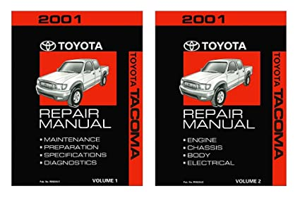 amazon com bishko automotive literature 2001 toyota tacoma shop rh amazon com 2001 toyota tacoma repair manual free 2001 toyota tacoma shop manual pdf