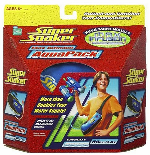 Super Soaker Max Infusion Aqua Pack]()