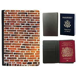 Passeport Voyage Couverture Protector // M00156116 Hauswand piedras de la pared la pared // Universal passport leather cover