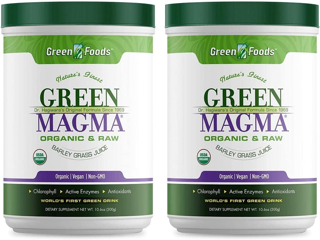 Green Foods Green Magma Powder 10.6 Ounces 2 Pack