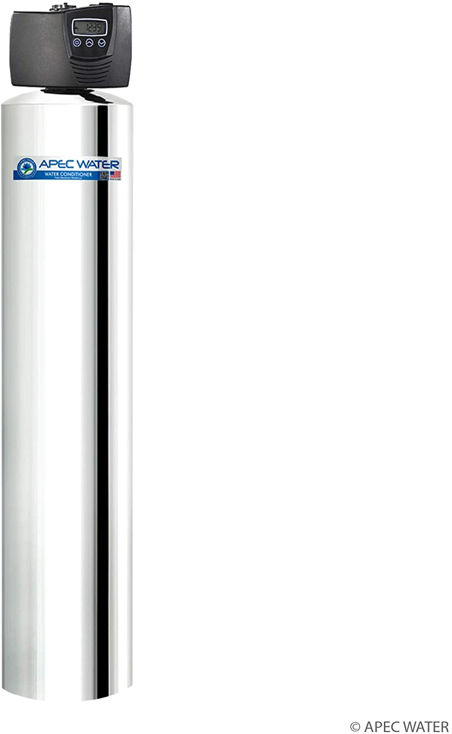 APEC Water Systems WTS-MAX-10 Flagship Whole House Water Filter System with Electronic Control Valve, Removes Chlorine, Chloramine, Hydrogen Sulfide and More, Up to 1,000K Gallon