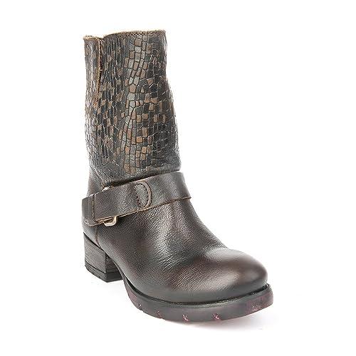 Felmini - Zapatos para Mujer - Enamorarse con Raisa 9025 - Botines Cowboy & Biker -
