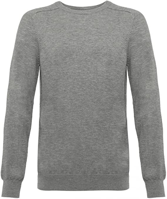 Wolsey 100% Extra Fine Merino Wool Crew Neck Men's Sweater
