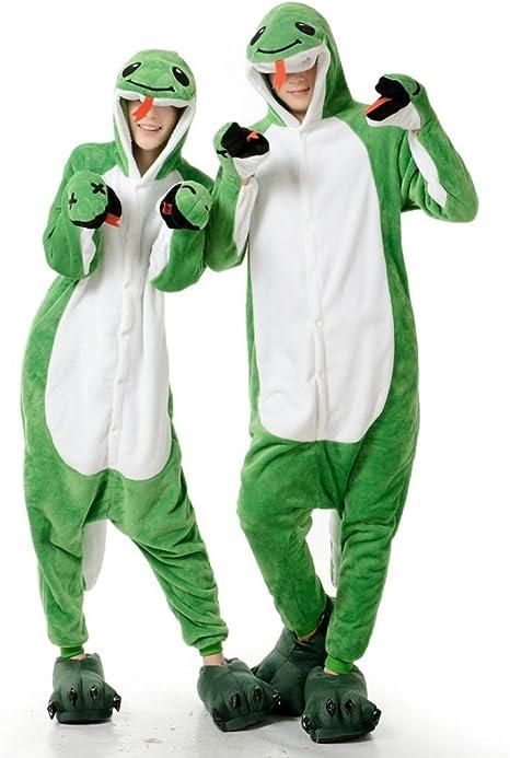 Serpiente Verde hombres adultos Mujeres Unisex Kigurumi traje de ...